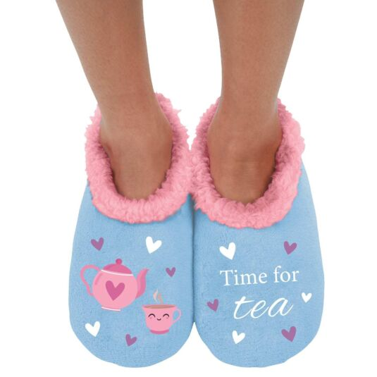 'Time for Tea' Slippers