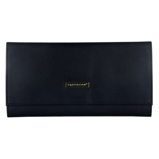 Navy Jewellery Roll