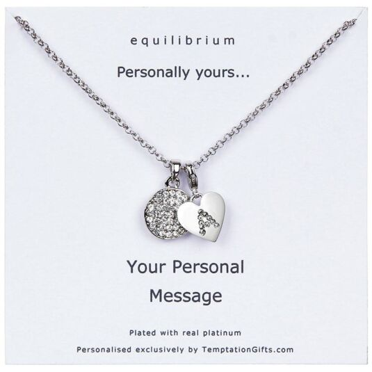 chains personal double personalized sided necklace photo products