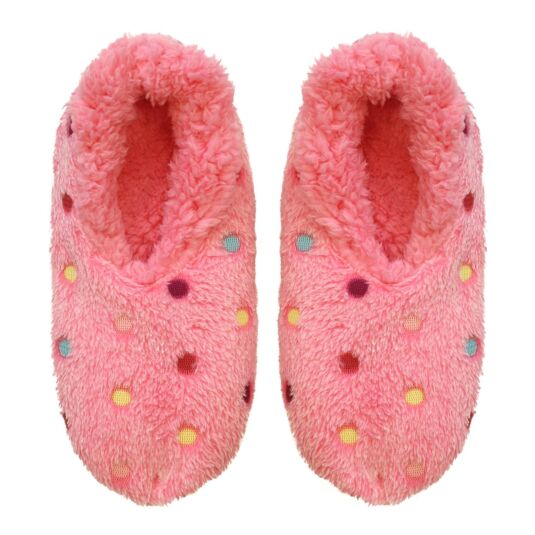 Lots a Dots Pink Slippers