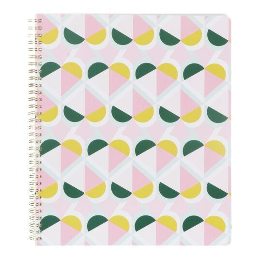 Geo Spade Large Spiral Notebook