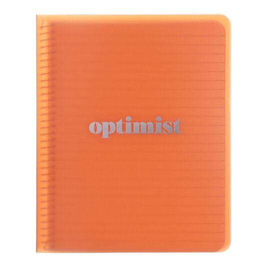 Optimist Concealed Spiral Notebook