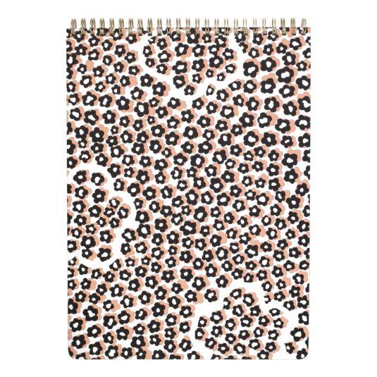 Flair Flora Spiral Top Large Notebook