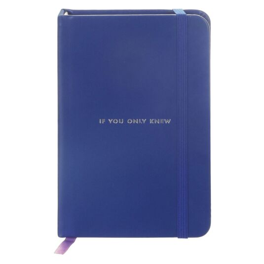 If Only You Knew Take Note Medium Notebook