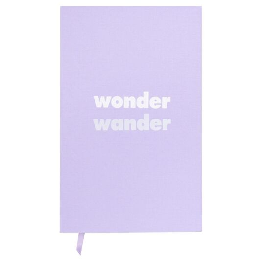 'Wonder Wander' Journal