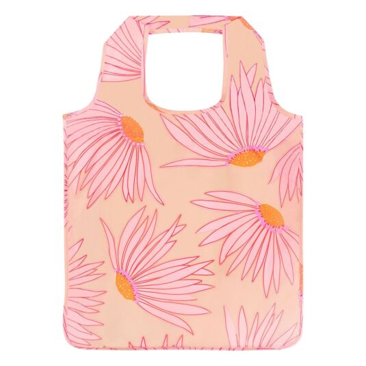 Falling Flower Shopper Tote