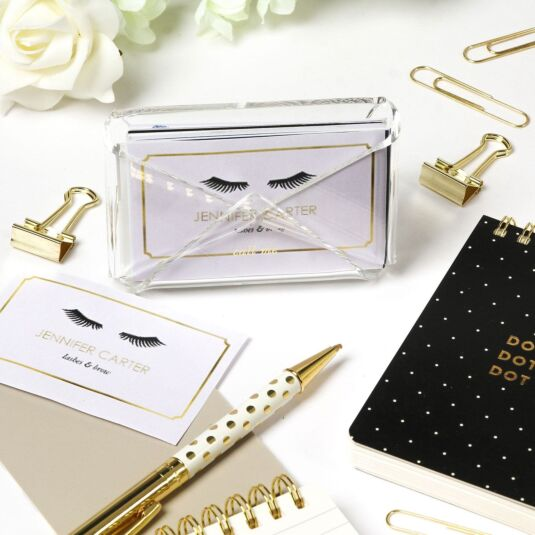 Kate spade acrylic business card holder temptation gifts kate spade acrylic business card holder colourmoves