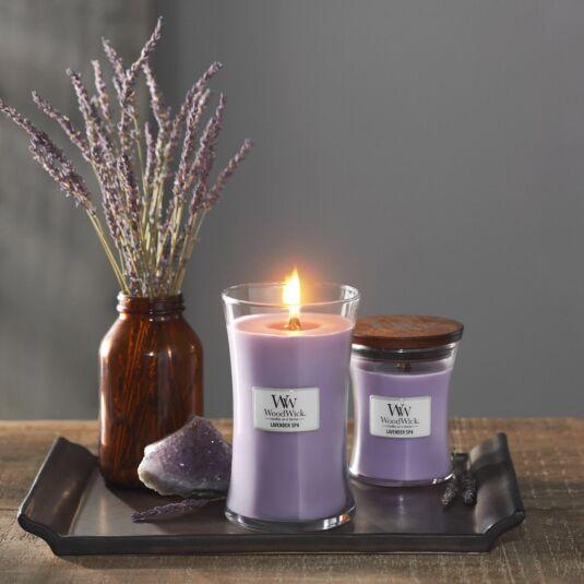 Výsledek obrázku pro woodwick lavender spa
