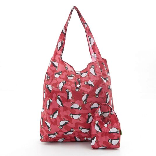 Eco Chic Puffin Foldaway Shopper