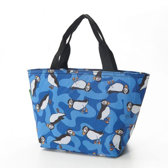 Eco Chic Puffin Foldaway Cool Bag