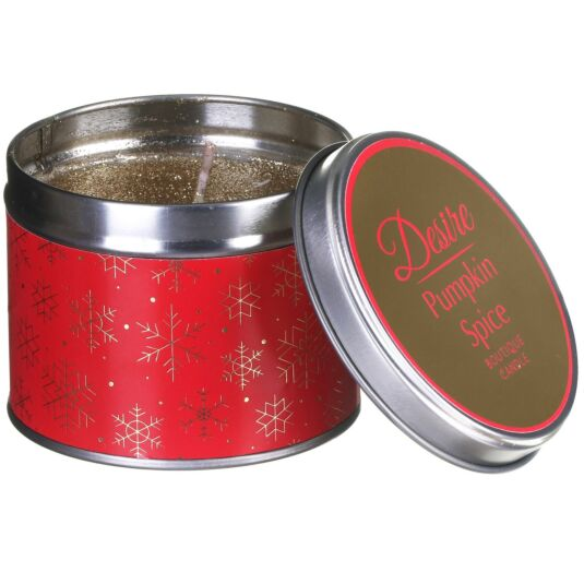 Desire Pumpkin Spice Tinned Candle