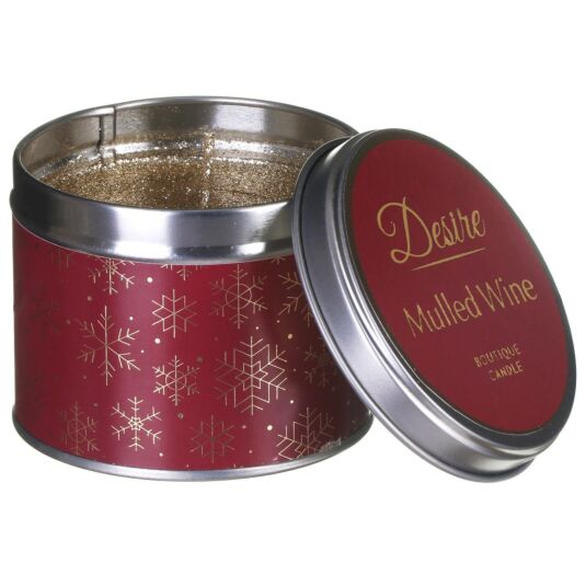Desire Mulled Wine Tinned Candle
