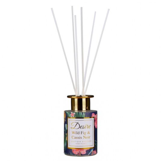 Desire Wild Fig and Cassis Noir Hand Poured Reed Diffuser