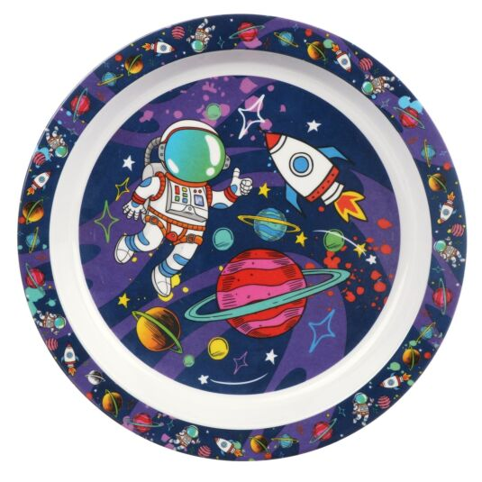 Leonardo's Little Stars Spaceman Plate