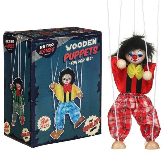 Retro Games Wooden Puppet