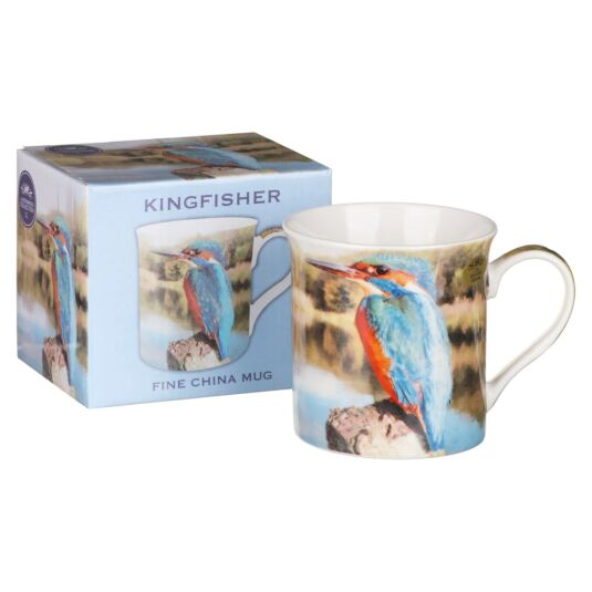 Kingfisher Bird Boxed Mug