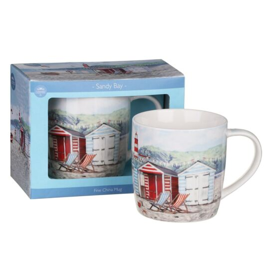 Sandy Bay Boxed Fine China Coffee Mug