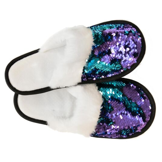 Mermaid Sequin Slippers