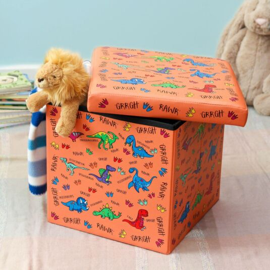 Dinosaurs Flat Pack Storage Box