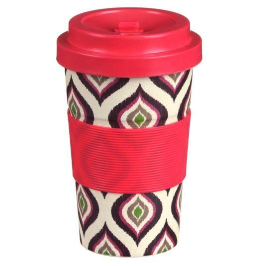 Small Geometric Slice Bamboo Travel Mug