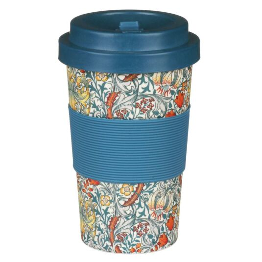 William Morris Golden Lily Small Travel Mug