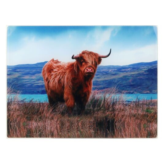 The Leonardo Collection Highland Cow Worktop Protector