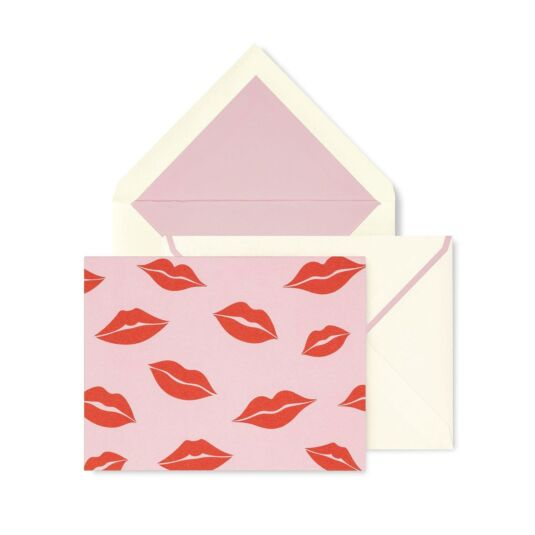 Lips Thank You Card Set