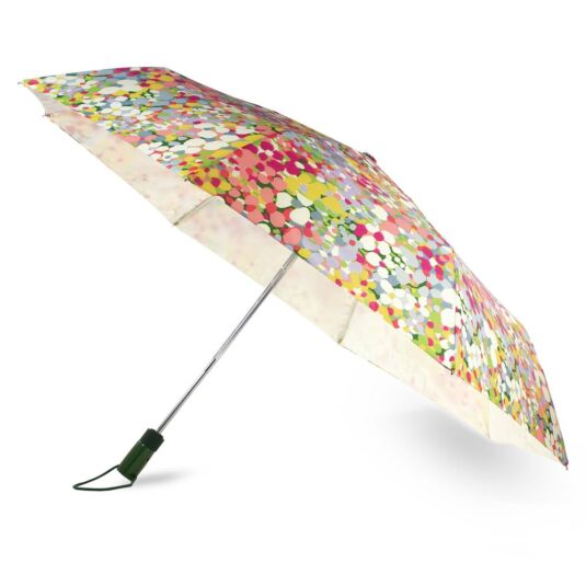 Floral Dot Travel Umbrella
