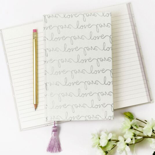 Love Script Bridal Notebook