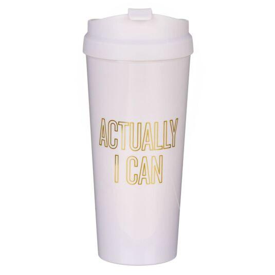 Actually I Can Thermal Mug