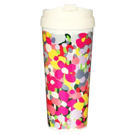 Floral Dot Thermal Mug