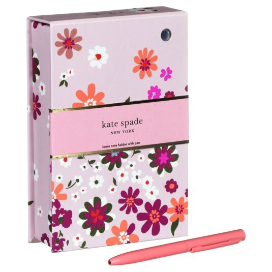Pacific Petals Loose Note Holder with Pen