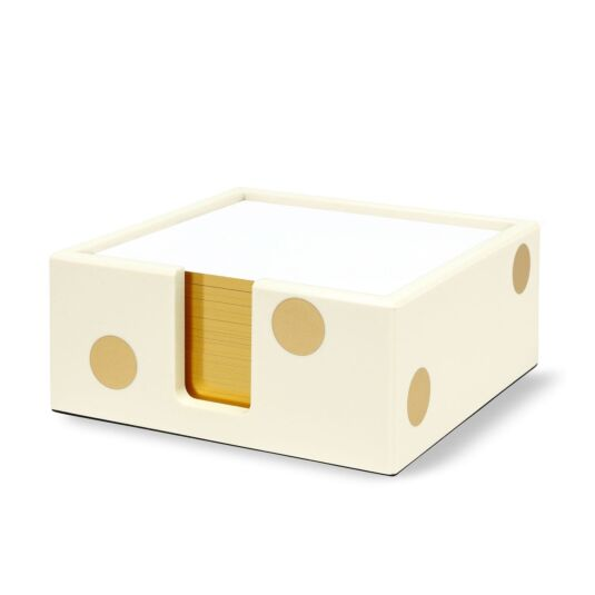 Gold Dot Note Holder