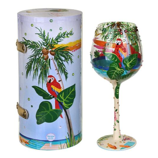Tropical Dream Supersized Wine Glass