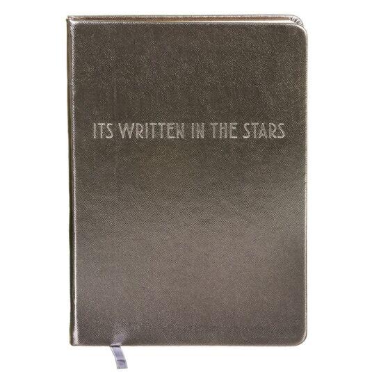 Shine Bright Gun Metal Grey A5 Notebook