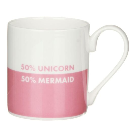 '50% Unicorn, 50% Mermaid' Mug