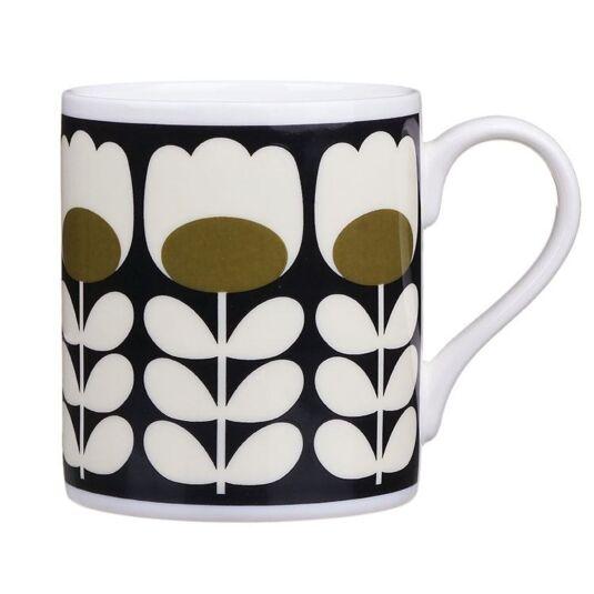 Green Tulip Stem Standard Mug