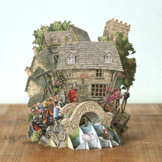 """""""The Cotswolds"""" 3D Card"""