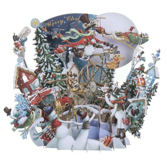 """I'm Dreaming of…"" Snowman 3D Christmas Card"