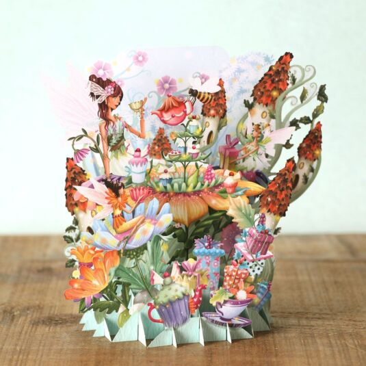 """The Fairy Party"" 3D Card"