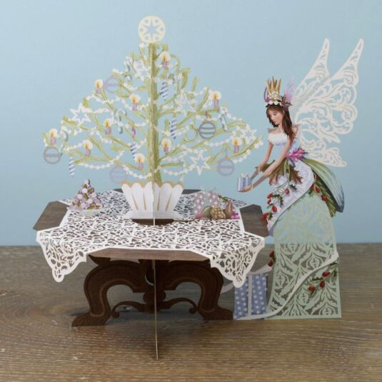 Fairy Table 3D Pop Up Card