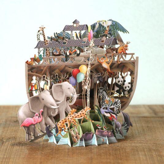 """""""Noah's Ark"""" 3D Card"""
