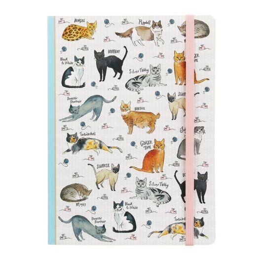 Curious Cats A5 Notebook
