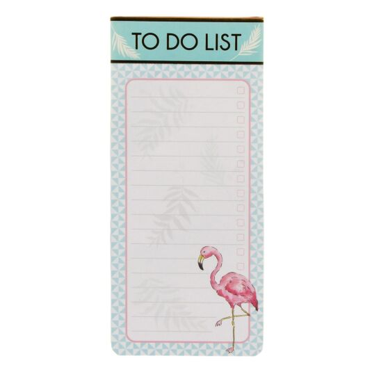 Flamingo Magnetic To Do List