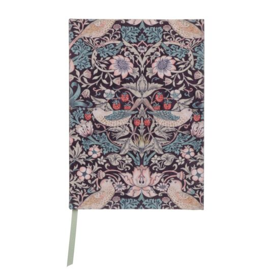 Strawberry Thief A5 Fabric Notebook