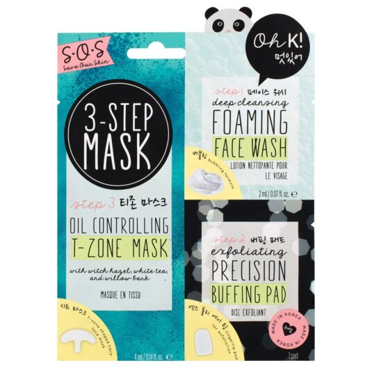 Oh K! 3-Step Blemish Solution T-Zone Mask