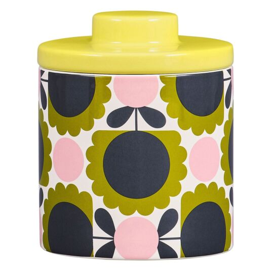 Scallop Flower Forest Large Storage Jar