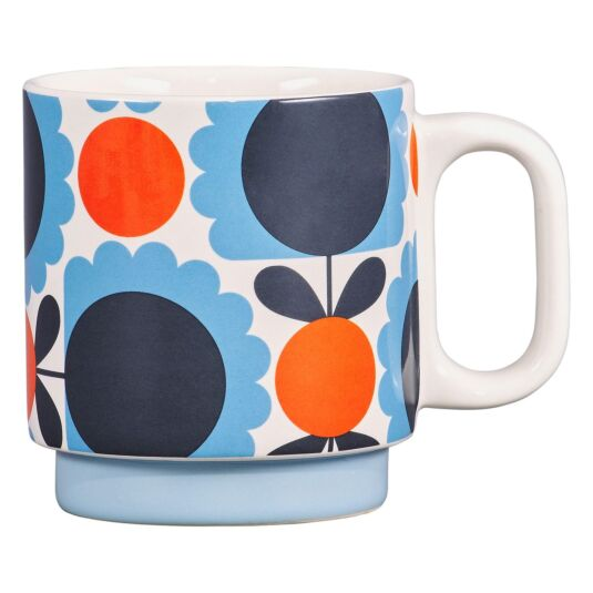 Scallop Flower Sky Individual Mug