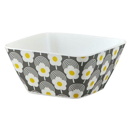 Lollipop Flower Graphite Bamboo Bowl