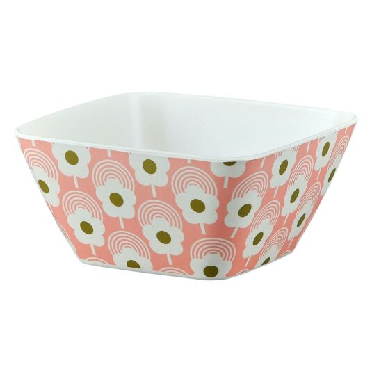 Lollipop Flower Bubblegum Bamboo Bowl